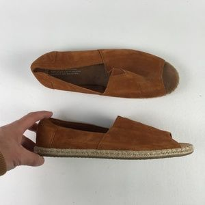 Toms Toffee Suede Espadrilles T916207